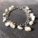 Mother of pearl bracelet that would make a lovely Mother's Day present.